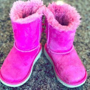 UGG Bailey Boots - Girls- Pink